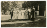Class of 1908 reunion, Carleton College, Northfield, Minnesota