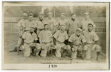 Carleton baseball players, c.1910, Carleton College, Northfield, Minnesota