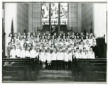 Children's choir, St. John's Lutheran Church