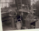 A Steptoe shaper inside the Northfield Iron Company workshop